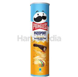 Pringles Potato Crisps Black Pepper Cheese 147gm