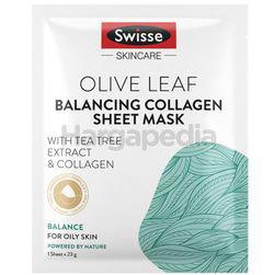 Swisse Olive Leaf Balancing Collagen Sheet Mask 23gm 1s