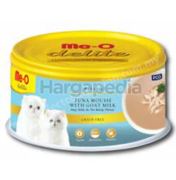 Me-O Delite Canned Kitten Tuna Mousse In Goat Milk 80gm