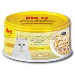 Me-O Delite Canned Tuna with Cheese in Jelly 80gm