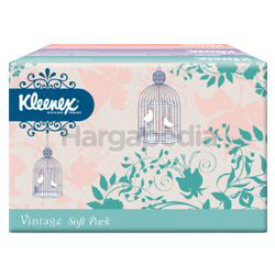 Kleenex 2ply Soft Pack Tissues Vintage Flower 3x50s