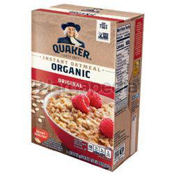Quaker Organic Instant Oatmeal Original 224gm