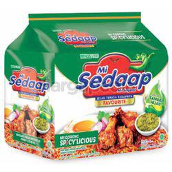Mi Sedaap Mi Goreng Spicylicious 5x86gm