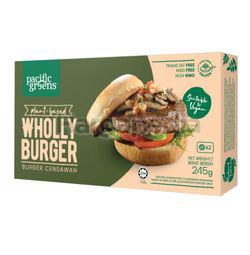 Pacific Greens Plant Based Wholly Burger 245gm