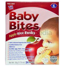Take One Baby Bites Apple Rusks 50gm
