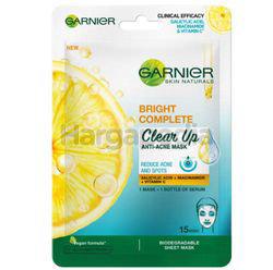 Garnier Bright Complete Anti-Acne Mask 1s