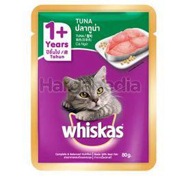 Whiskas 1+ Pouch Cat Food Tuna 80gm