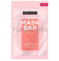 Freeman Cleansing Mask Bar In Makeup Removing Grapefruit 1s