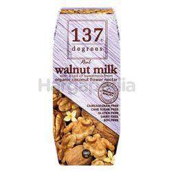 137 Degrees Walnut Milk Original 180ml