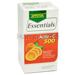 Appeton Essentials Activ-C Orange 500mg 30s