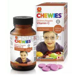 Chewies Vitamin C 100mg Fruity 60s