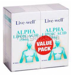 Live-Well Alpha Lipoic Acid 2x90s