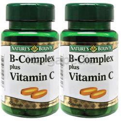 Nature's Bounty B Complex Plus C 2x45s