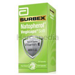 Surbex Natopherol Bio-Enhanced Vitamin E 400I.U 60s