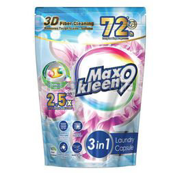 Maxkleen 9 3in1 Colour Care Laundry Capsule 30s