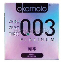 Okamoto 003 Platinum Condom 3s