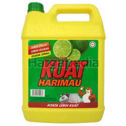 Kuat Harimau Dishwashing Liquid Lime 5lit