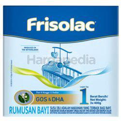 Frisolac Step 1 3x400gm