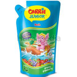 Carrie Junior Baby Bath Groovy Grapeberry Pouch 500ml