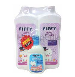 Fiffy Baby Talcum Powder 2x500gm