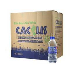 Cactus Mineral Water 48x350ml