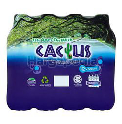 Cactus Mineral Water 12x500ml