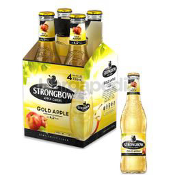 Strongbow Gold Apple Cider 4x325ml