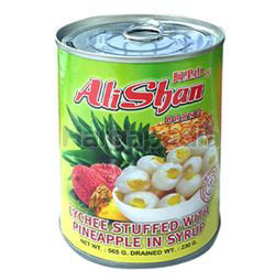 Alishan Lychee With Pineapple In Syrup 565gm