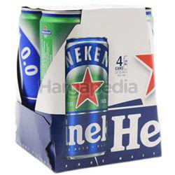 Heineken 0.0 Non Alcoholic Beer 4x330ml