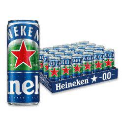 Heineken 0.0 Non Alcoholic Beer 24x330ml