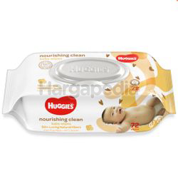 Huggies Baby Wipes Nourishing Clean Coco & Shea 72s