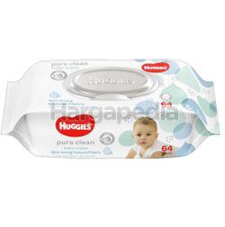 Huggies Baby Wipes Pure Clean 64s