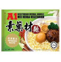 A1 Emperor Herbs Chicken Instant Noodles 4x90gm