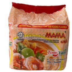 Mama Tom Yam Instant Rice Vermicelli 5x55gm