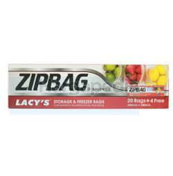 Lacy's ZipBag Gallon Size 260mm x 280mm 24s