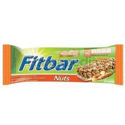 Fitbar Crispy Rice Bar Nuts 25gm