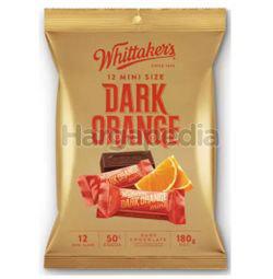 Whittaker's Share Bags Dark Orange 180gm