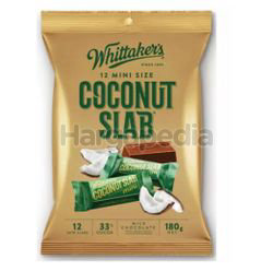 Whittaker's Share Bags Coconut Slab 180gm