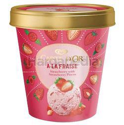 Wall's Carte D'Or Strawberry Ice Cream 410ml