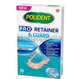 Polident Pro Retainer & Guard Daily Cleanser 36s