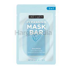 Freeman Cleansing Mask Bar In Pore Detoxifying Sulphur 1s