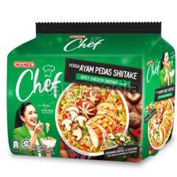 Mamee Chef Spicy Chicken Shitake 4x82gm