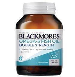 Blackmore Omega-3 Fish Oil Double Strength 60s