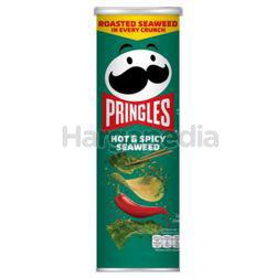 Pringles Potato Crisps Hot & Spicy Seaweed 97gm