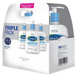 Cetaphil Gentle Skin Cleanser 3x500ml