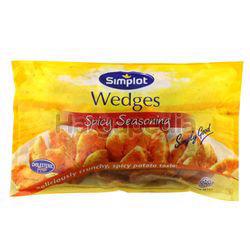 Simplot Spicy Wedges 750gm