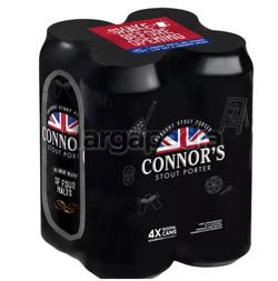 Connor's Stout Can 4x500ml