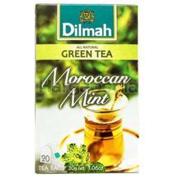 Dilmah Green Tea Moroccan Mint 20x1.5gm