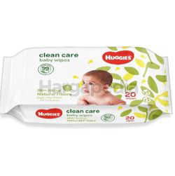 Huggies Baby Wipes Clean Care 20s