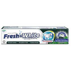 Fresh & White Toothpaste Volcanic Whitening 140gm